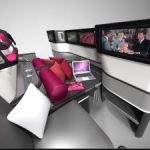 business class flights amenities